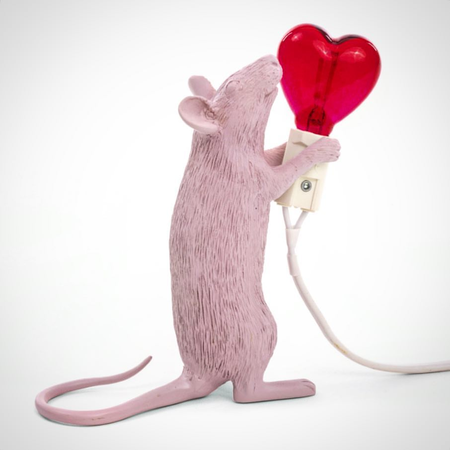 Mouse lamp love editie
