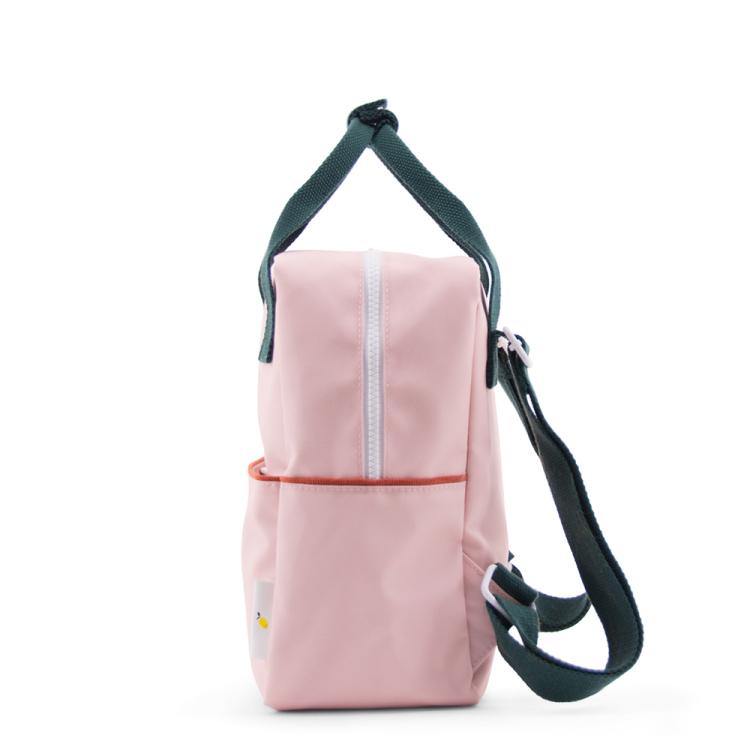 Sticky lemon backpack small corduroy soft pink