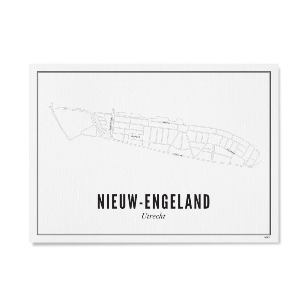 Utrecht Nieuw Engeland 30x40