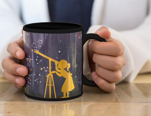 Morph mug stargazer