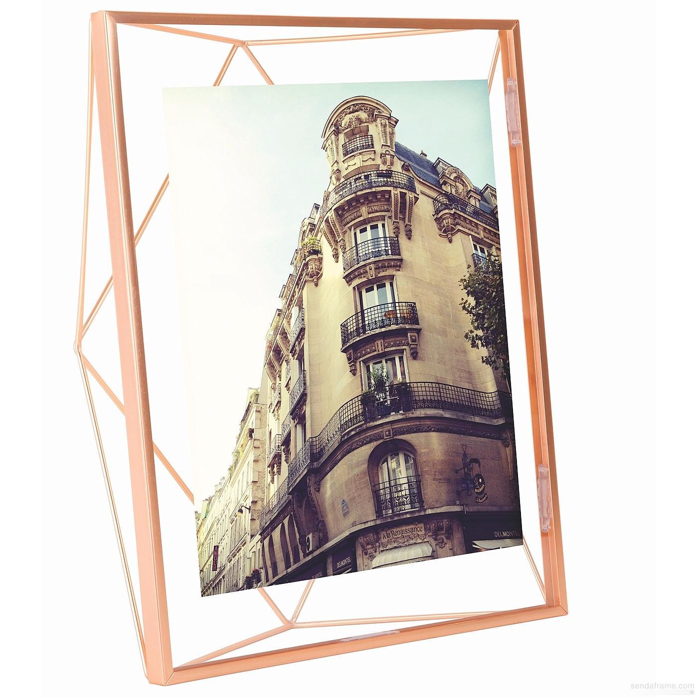 Prisma 8x10 photo display copper