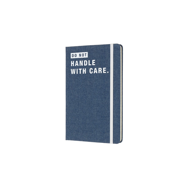 Limited edition denim notebook ruled large don't handle