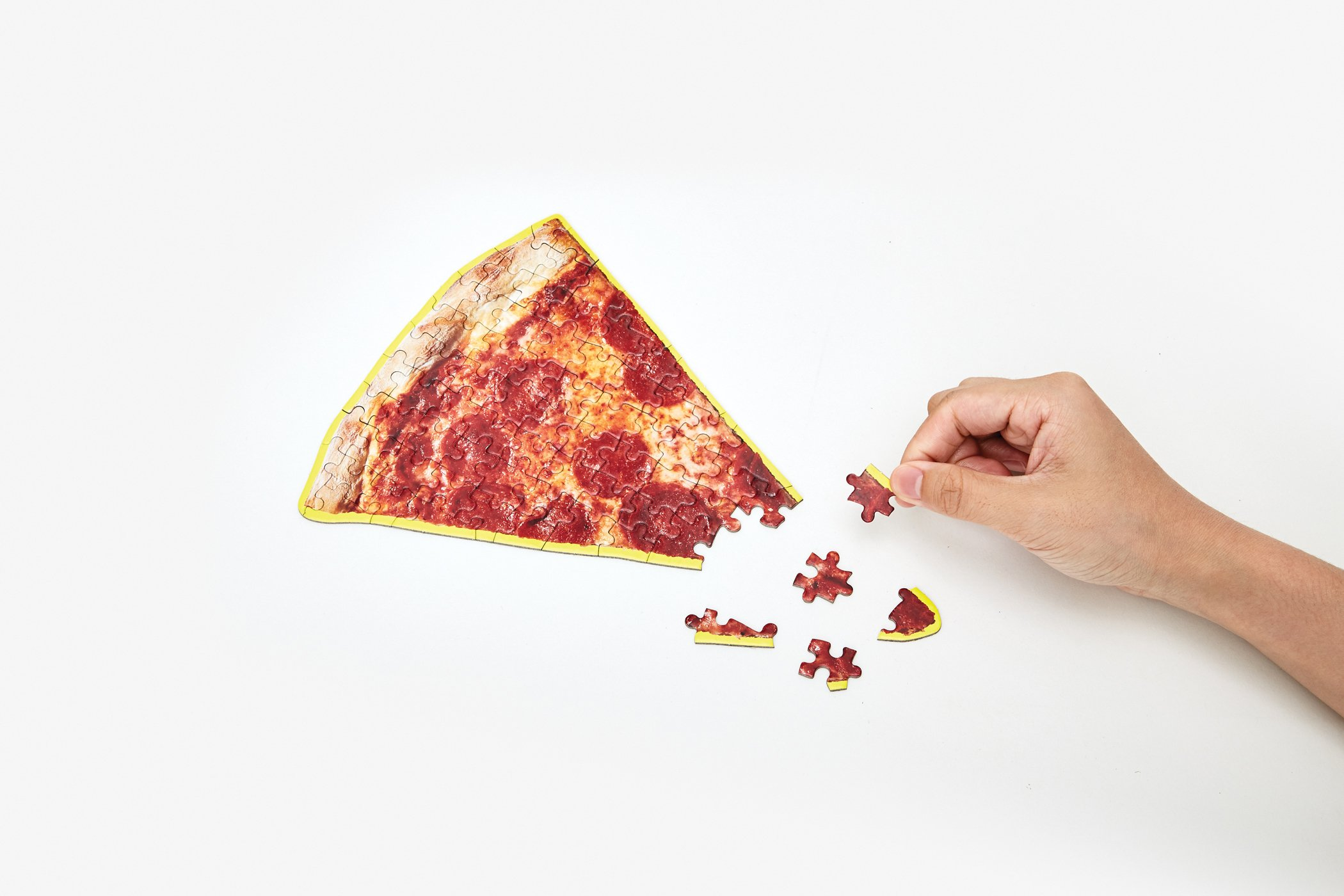 Little puzzle thing pizza slice