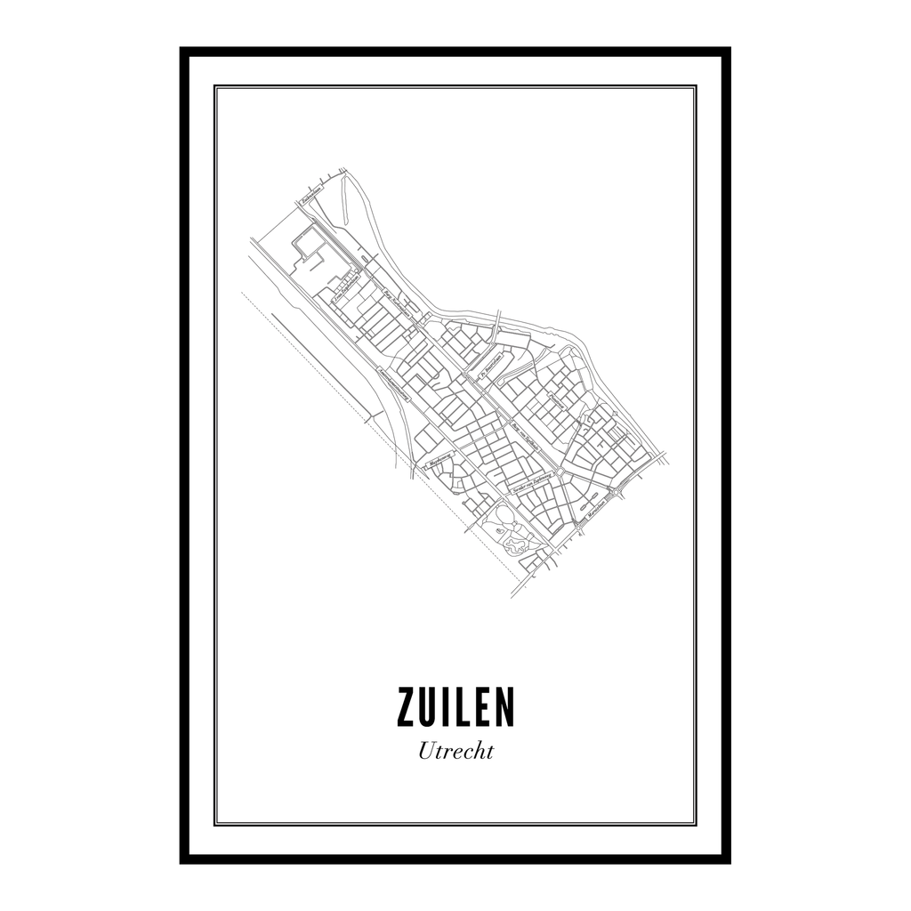 Utrecht Zuilen ansichtkaart