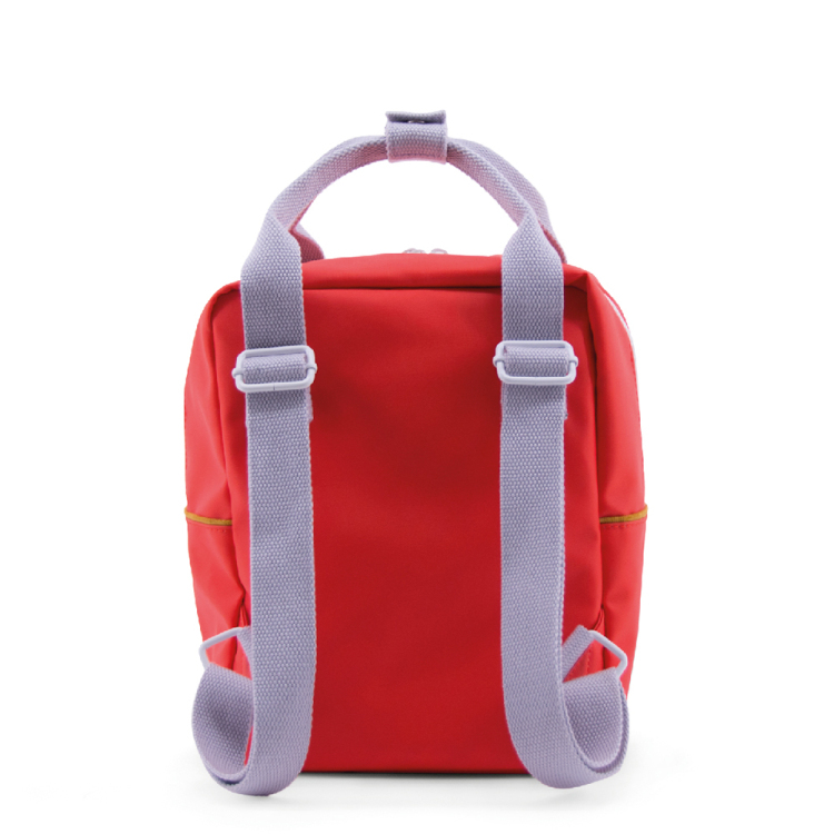 Sticky lemon backpack small corduroy sporty red