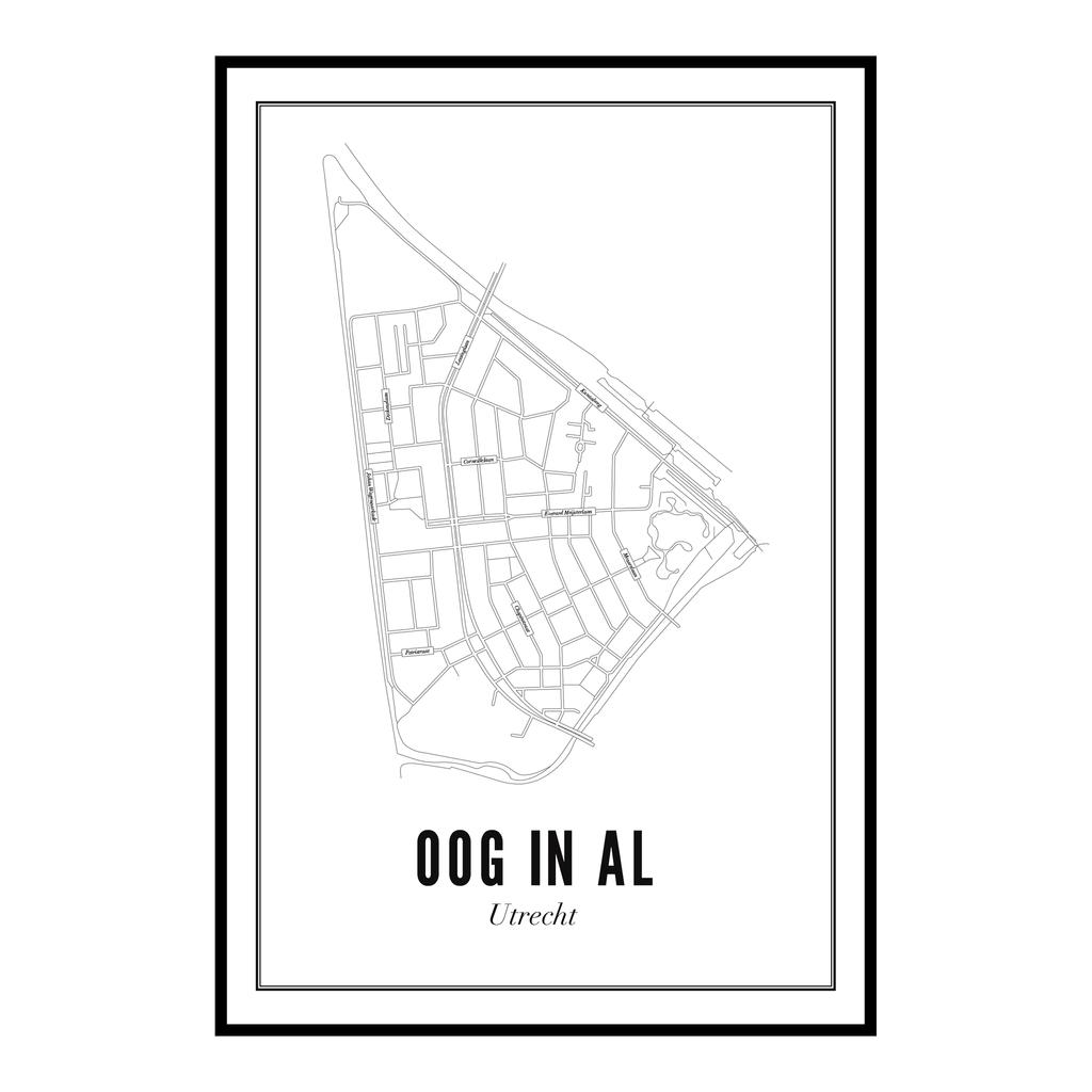 Utrecht Oog in Al Ansichtkaart