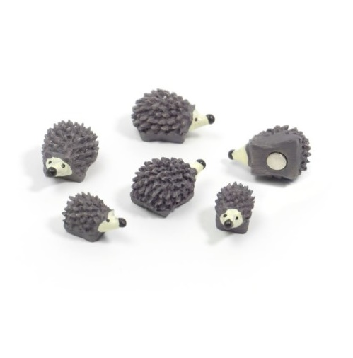 Magnet hedgehog set van 6