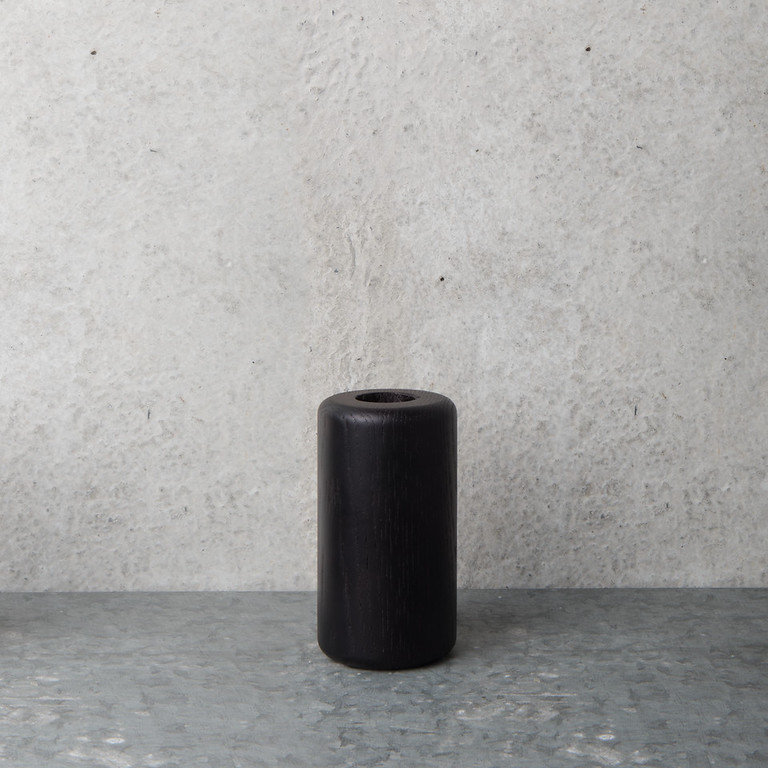 Candle holder black