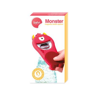 Bottle opener monster red