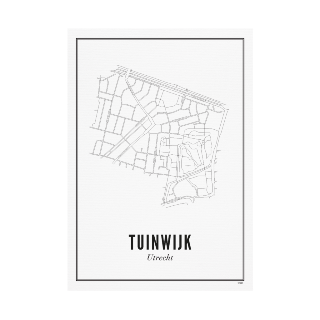 Utrecht Tuinwijk 30x40