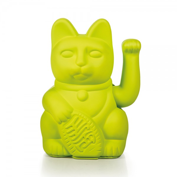 Lucky cat neon green