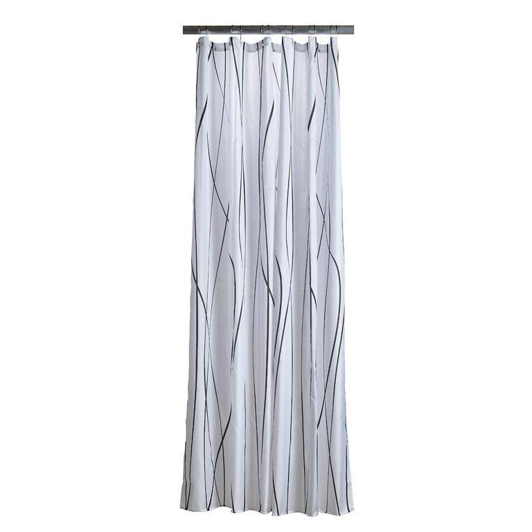 Shower curtain flow grey