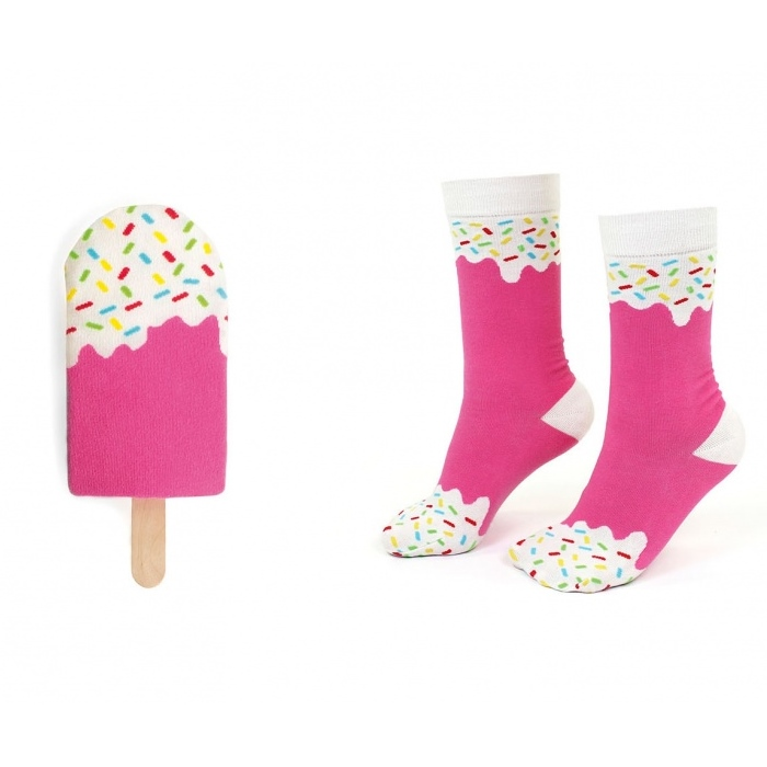 Icepop socks - Strawberry