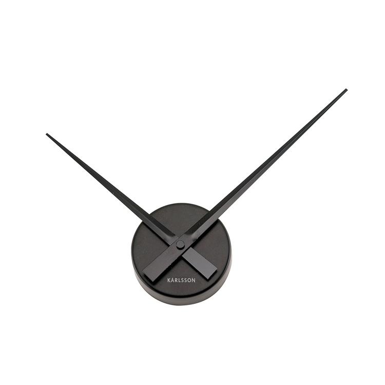 Wall clock little big time mini black