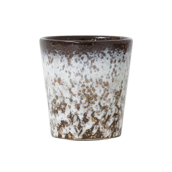 Ceramic 70's mug mud