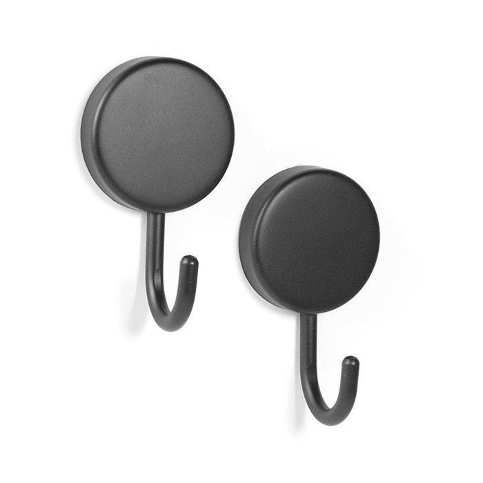 Magnetic hook mamba black set of 2
