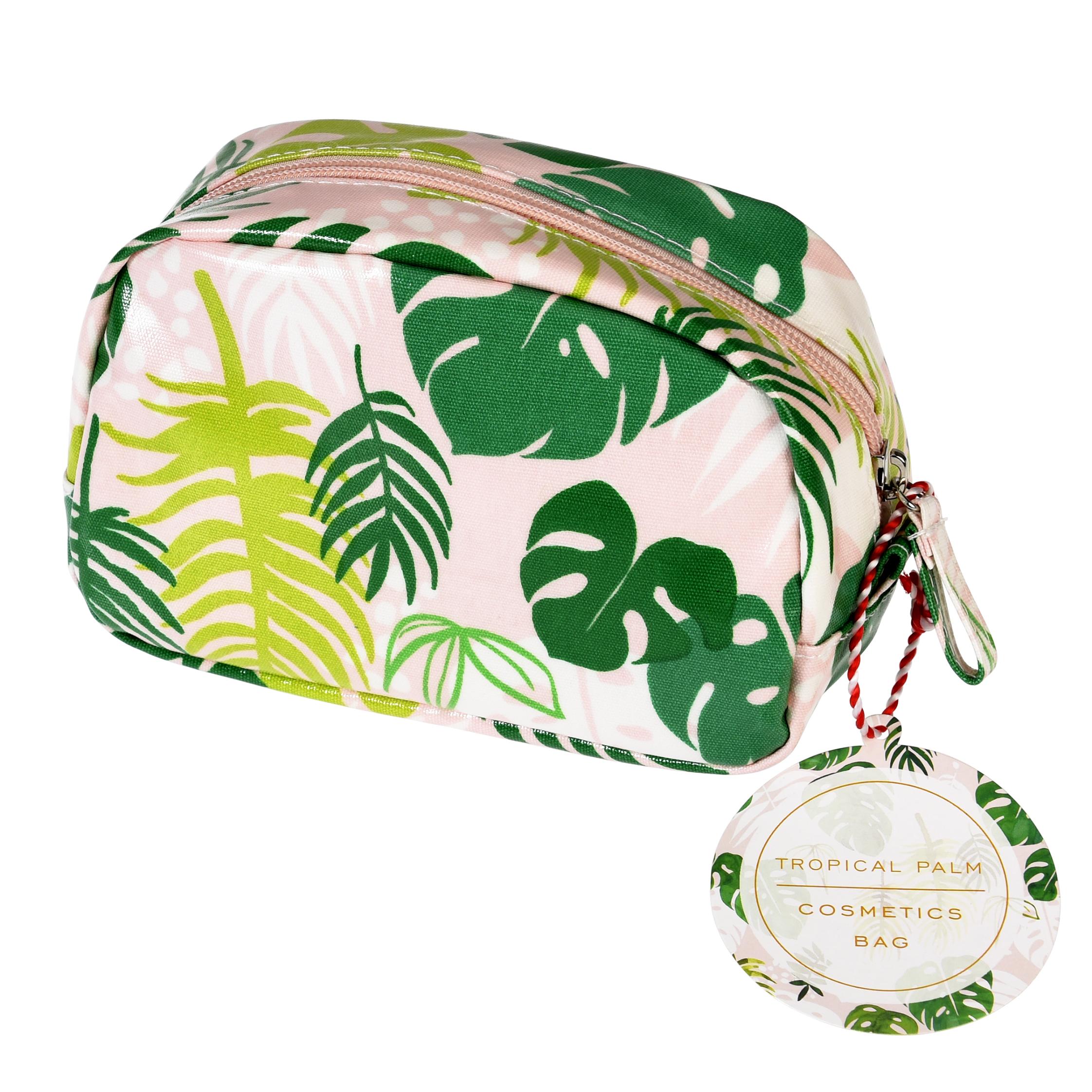 Make up bag palm leaf