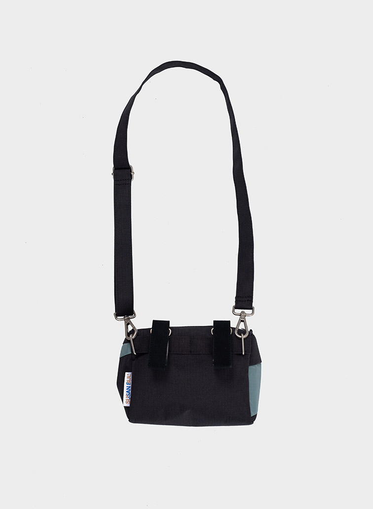Bum bag black & grey S