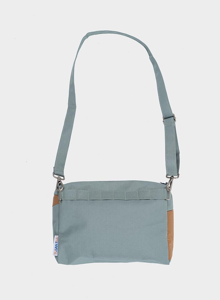 Bum bag grey & camel M