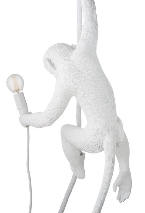 Monkey lamp ceilling white