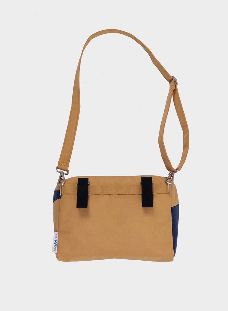 Bum bag camel & navy M