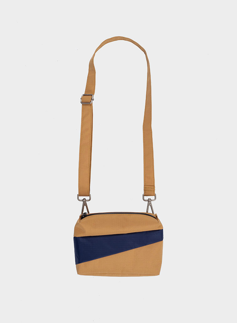 Bum bag camel & navy S
