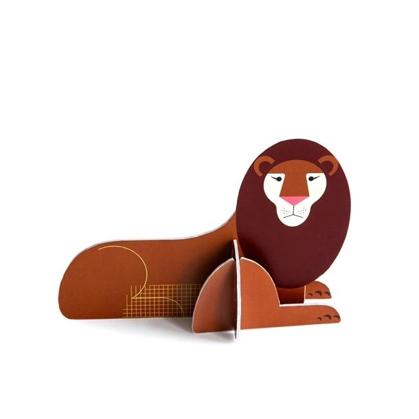 Pop out lion