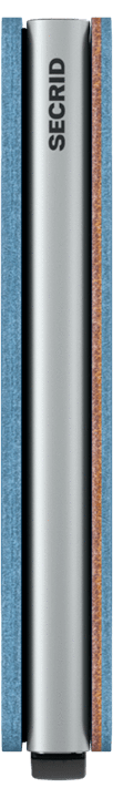 Slim wallet indigo 3