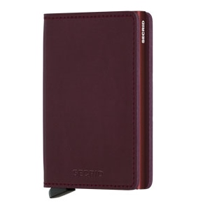 Slim wallet original bordeaux
