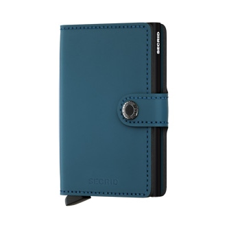 Mini wallet matte petrol