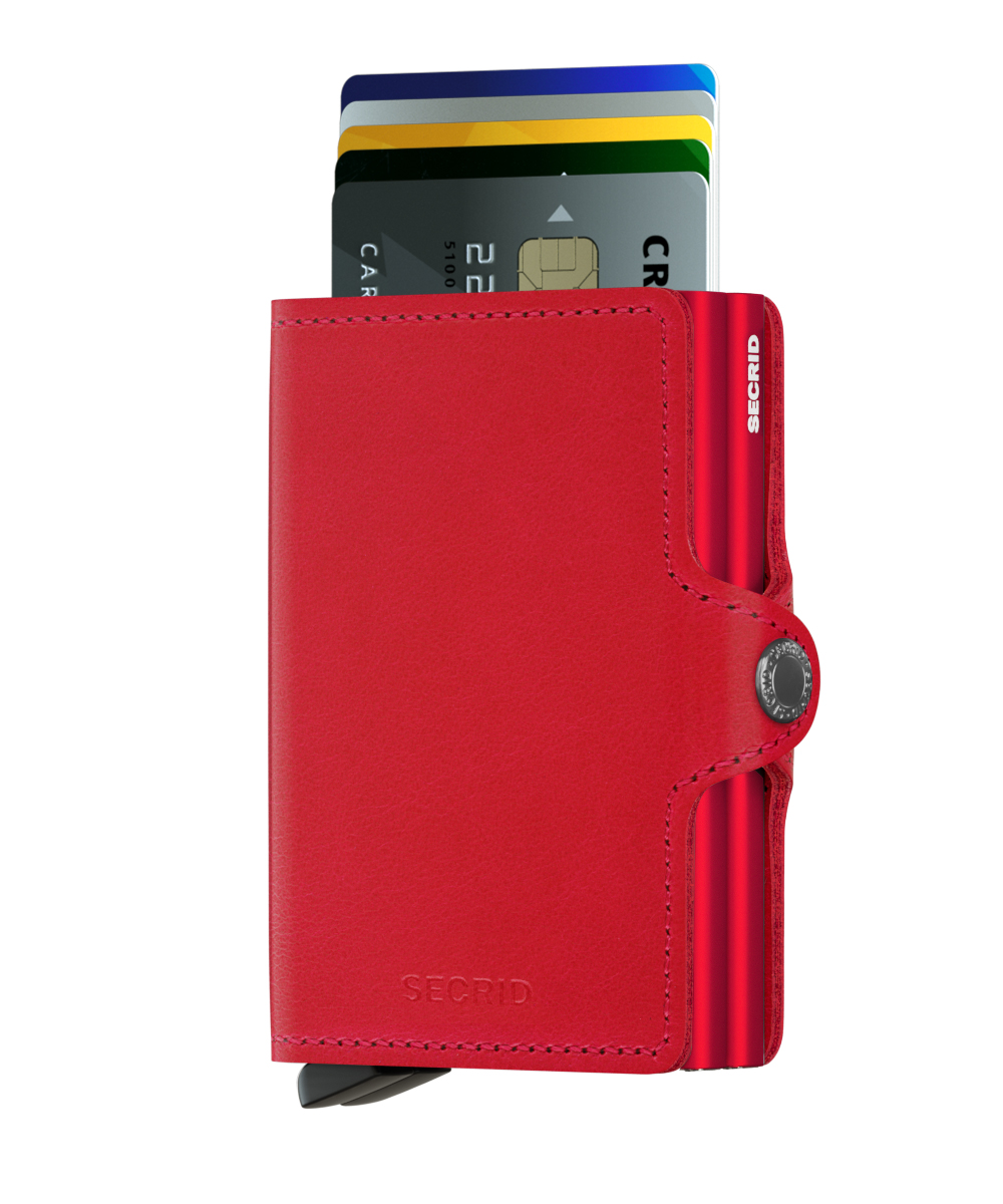 Twin wallet original red- red