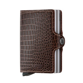 Twin wallet amazon brown