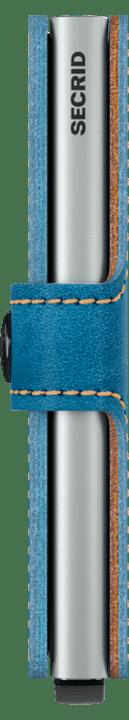 Mini wallet indigo 3