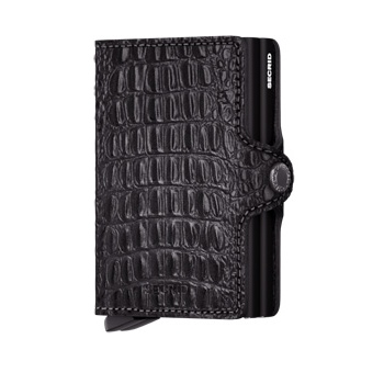 Twin wallet nile black