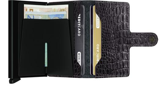 Mini wallet nile black