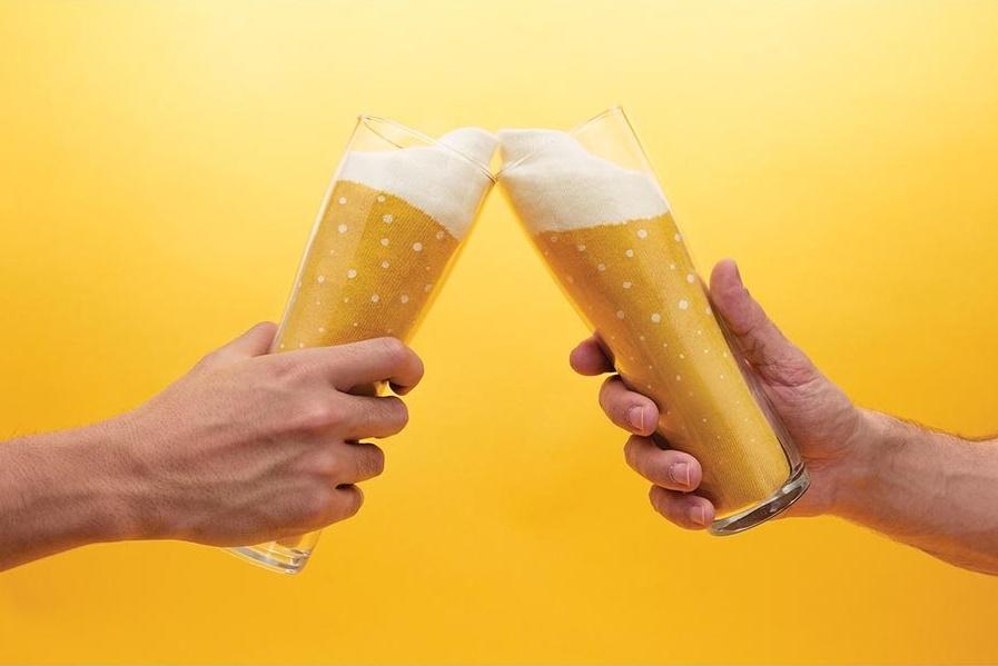 Bier sokken lager