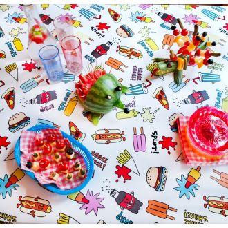 Fastfood tafelzeil