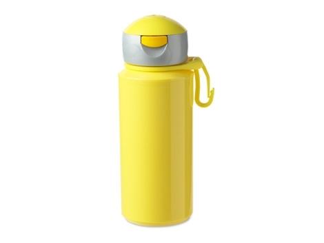 Drinkfles popup campus geel