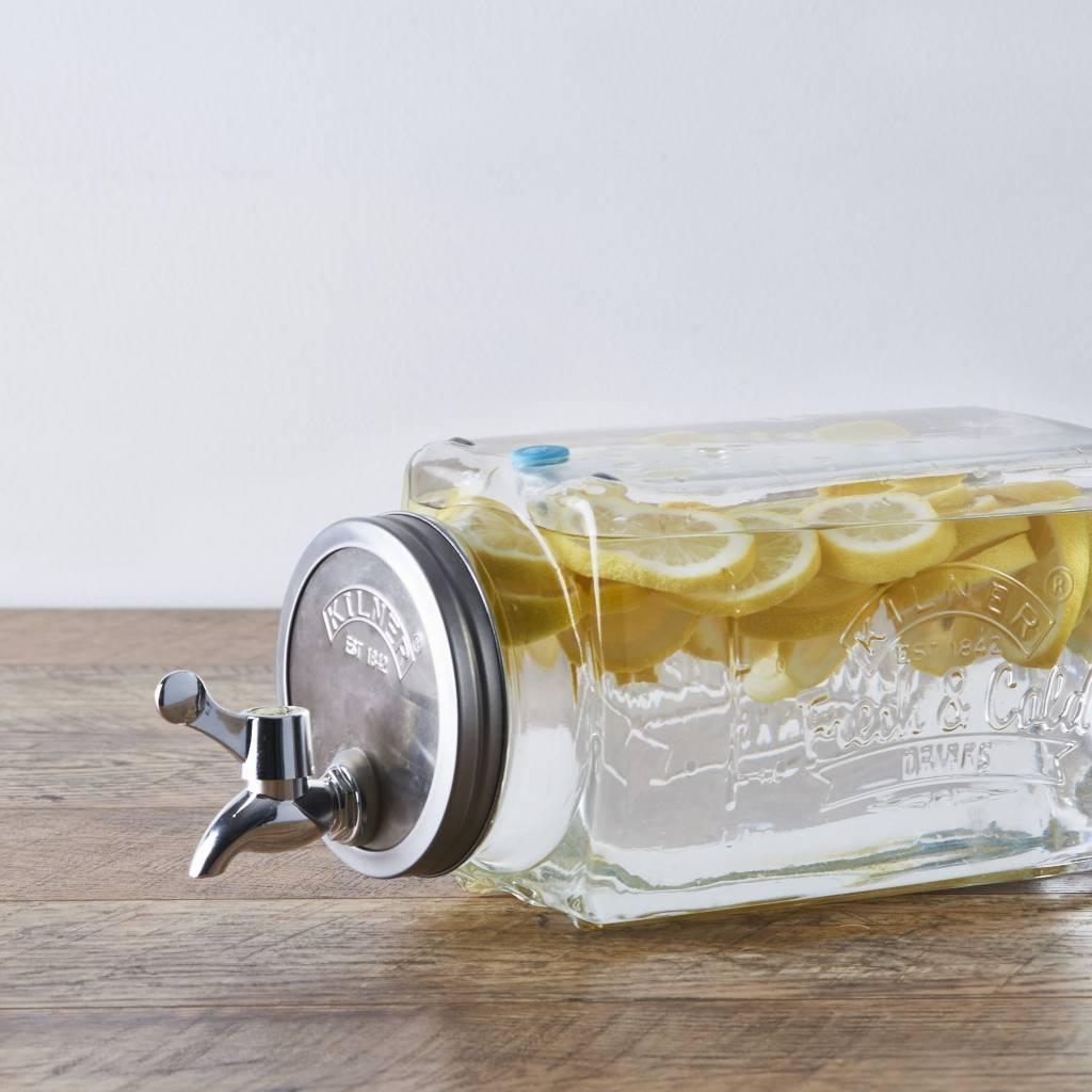 Kilner koelkast drankdispenser 3 liter
