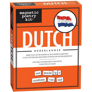 Magnetic poetry Dutch