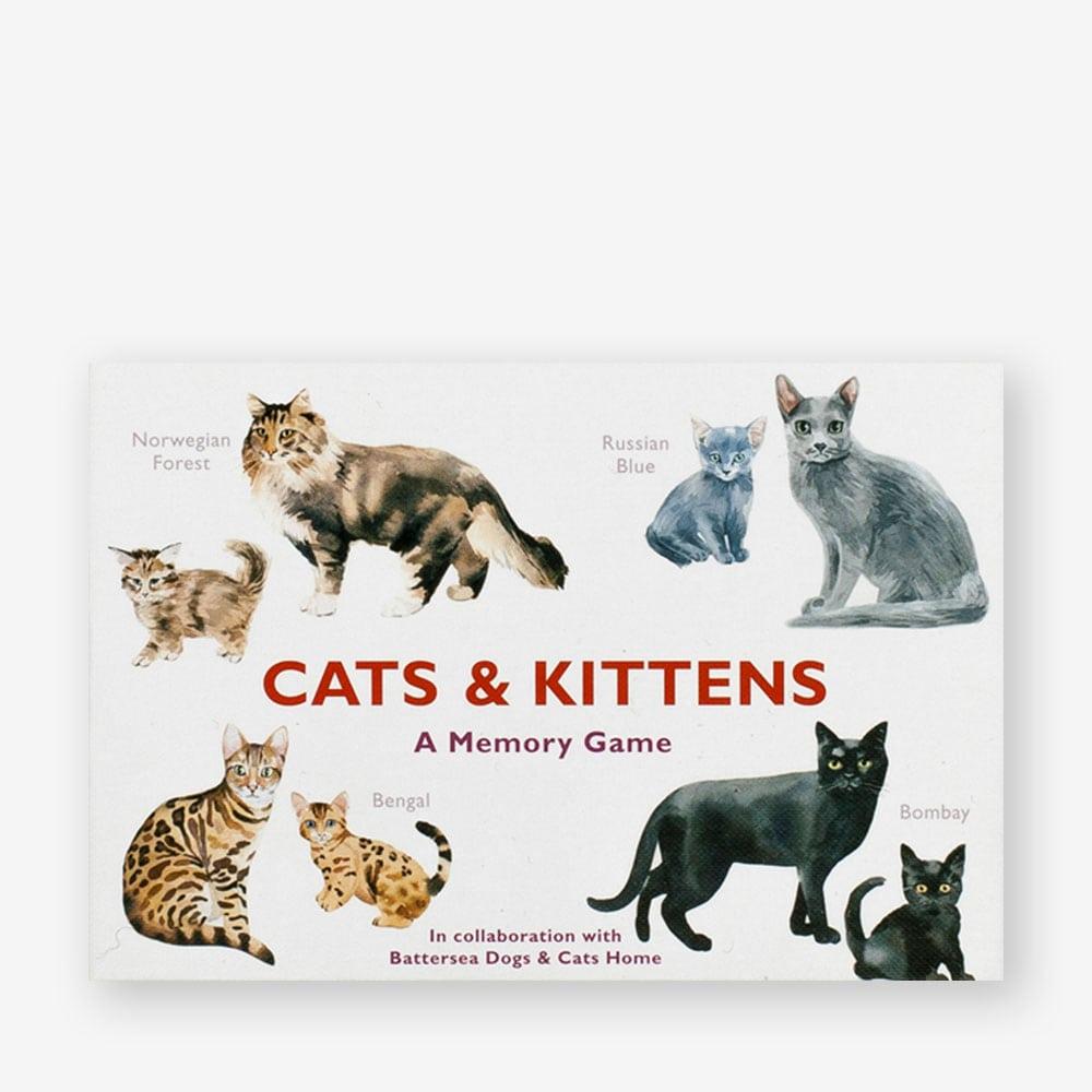Cats & kittens memory spel