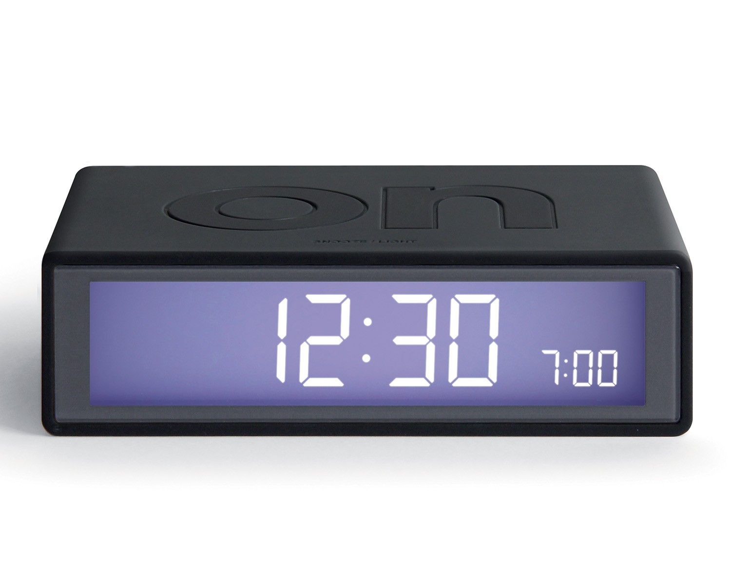 Flip clock dark grey