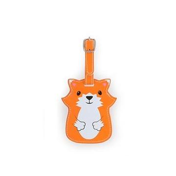 Luggage tag fox