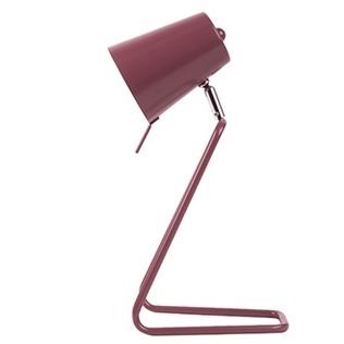 Table lamp Z metal marsala pink