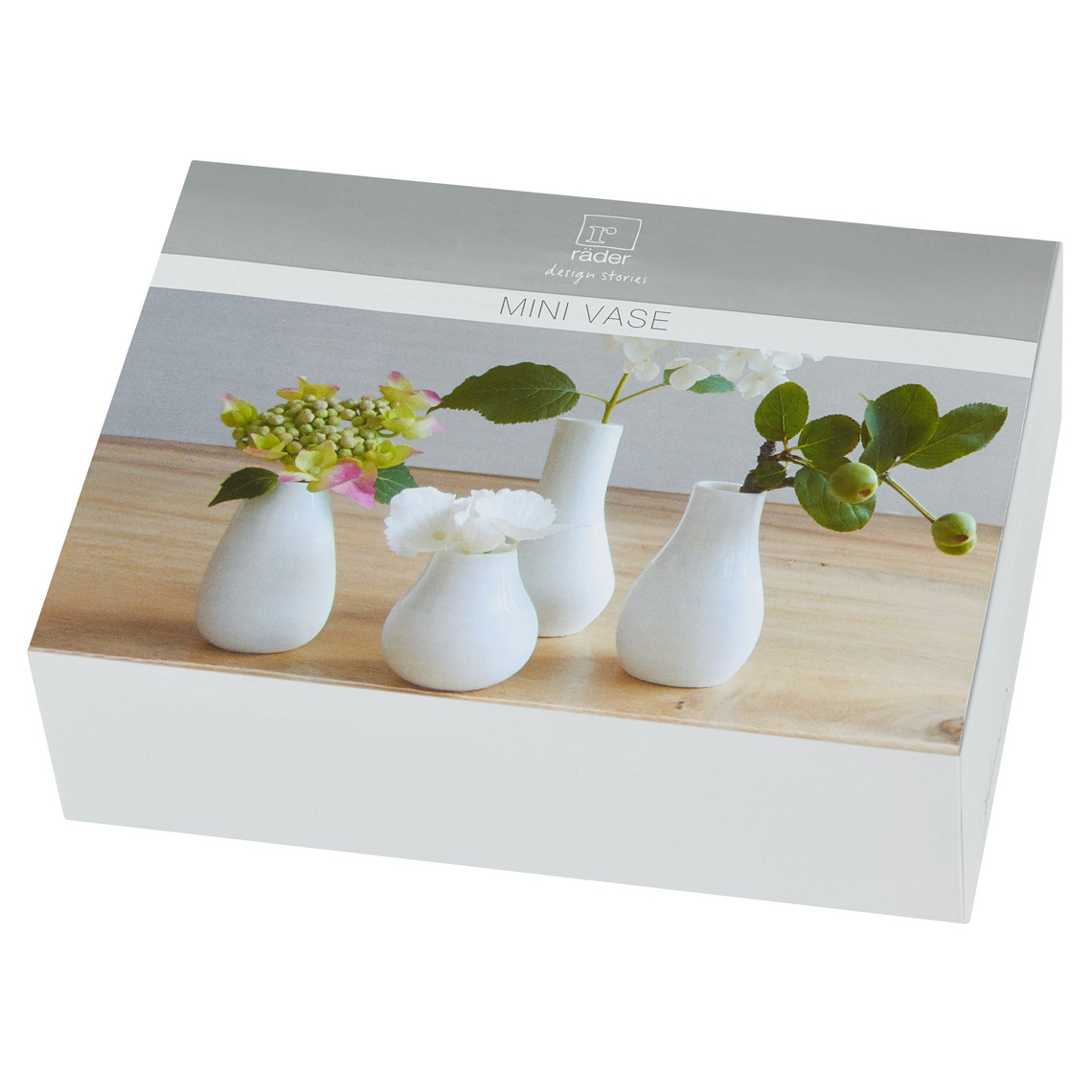 Mini vase set of 4
