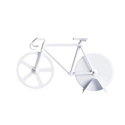 Fixie pizzasnijder pure white