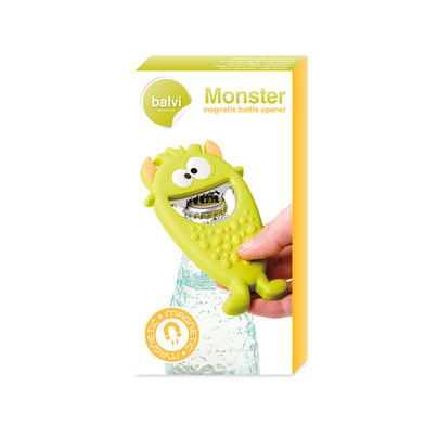 Bottle opener monster green