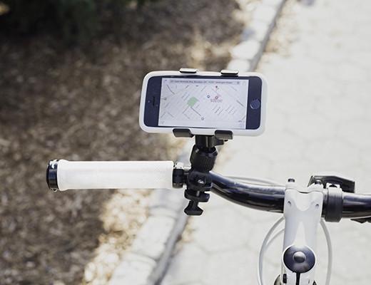 Bike phone holder black