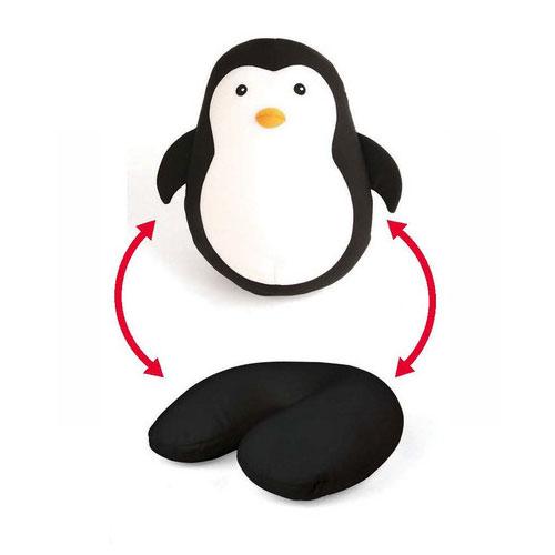 Zip & flip pillow pinguin
