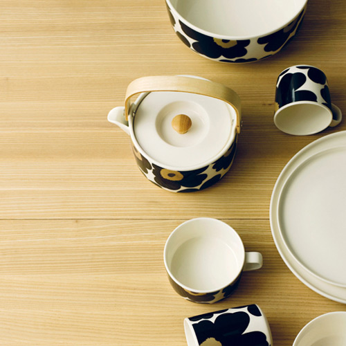 Marimekko Teapot Unikko Black